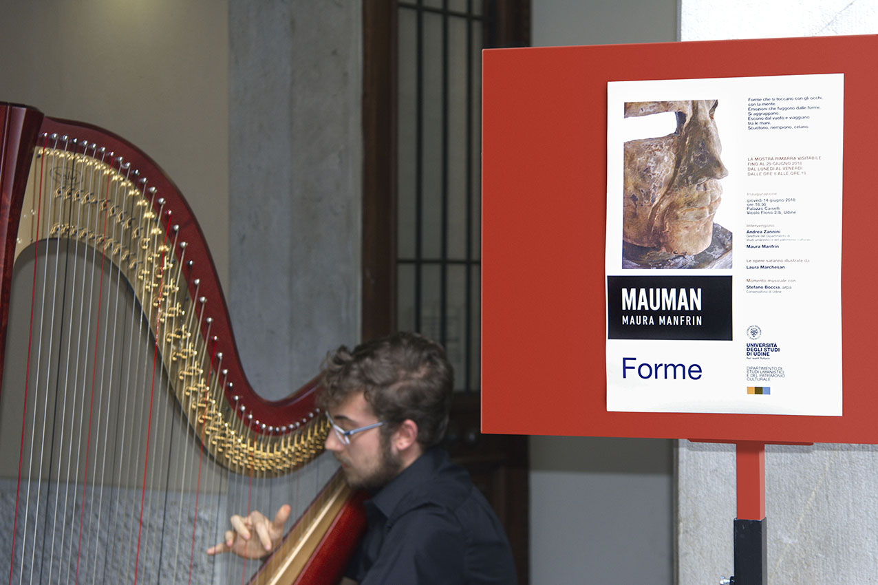 MAUMAN-ART MAURA MANFRIN Forme Mostra Udine Arte Scultura Friuli venezia Giulia